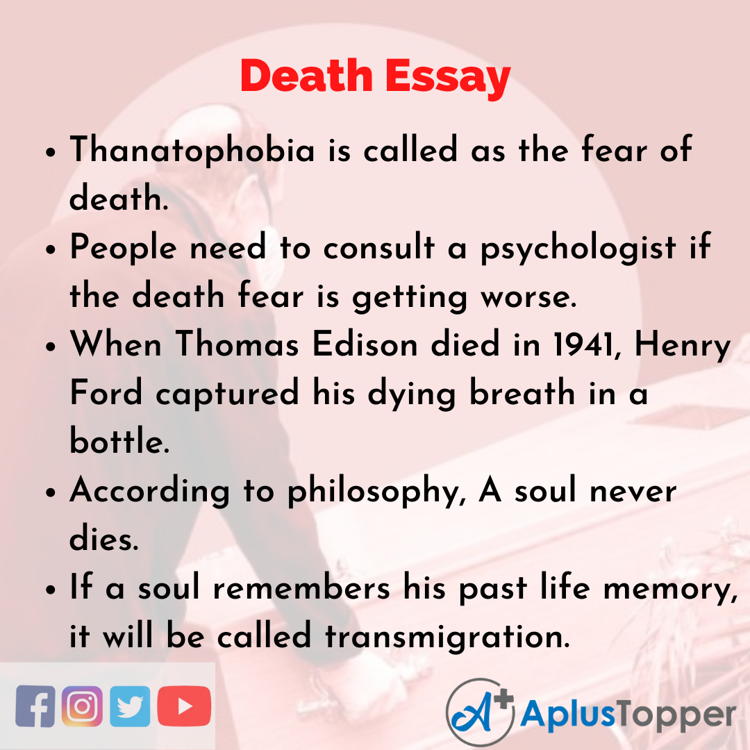 Essay about Death