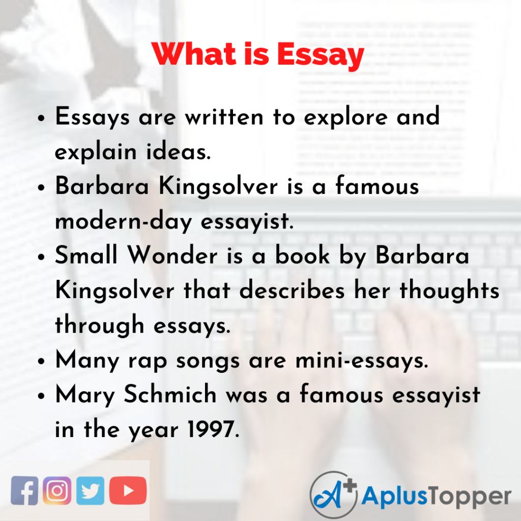 Essay about How to Write a Good Essay