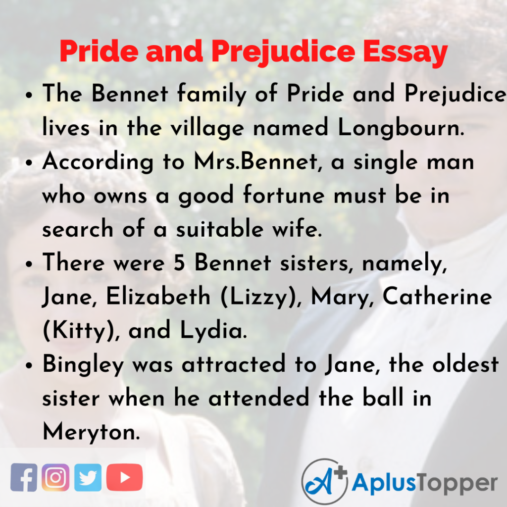 Essay about Pride and Prejudice