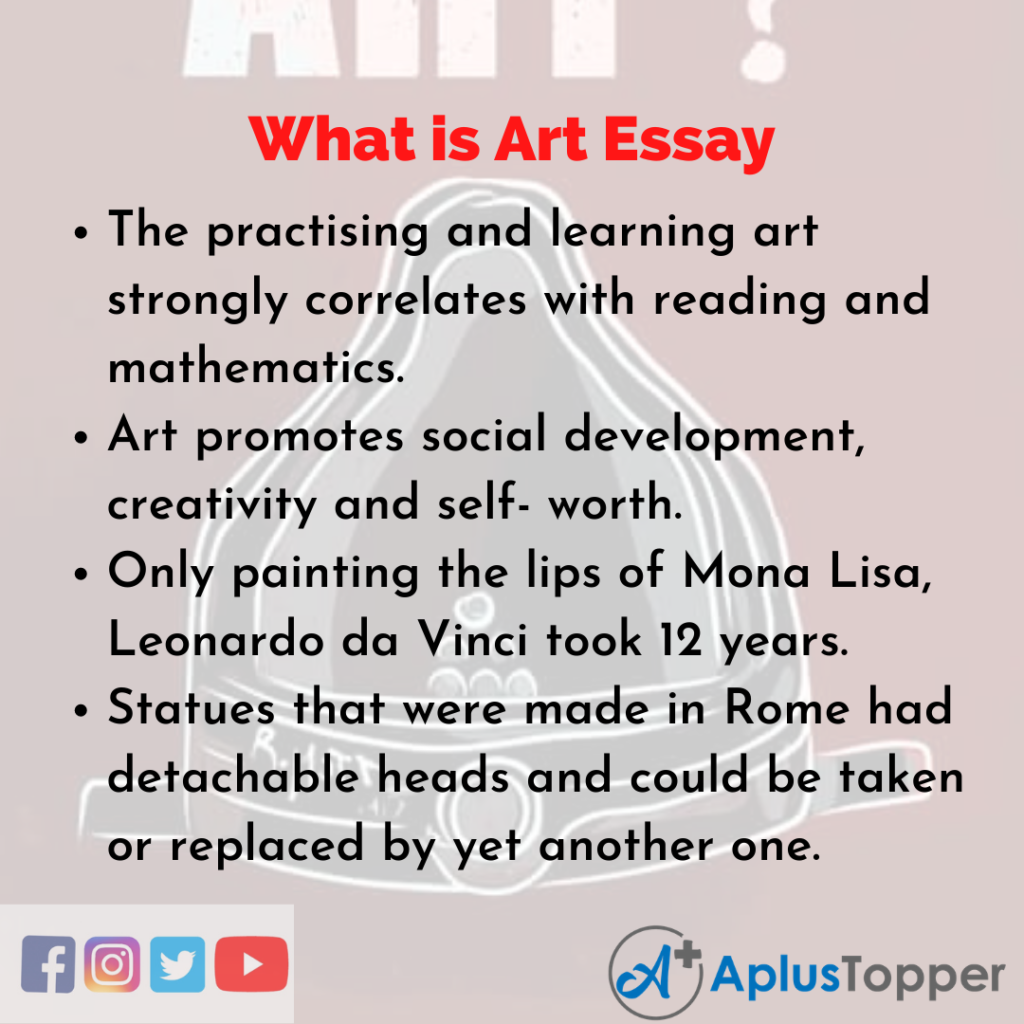 Essay about What is Art