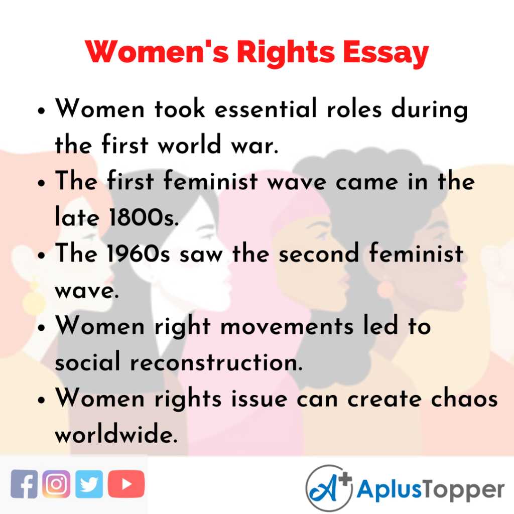 Essay about Women's Rights
