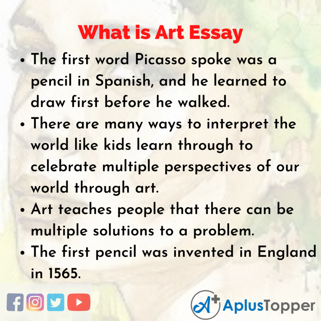 Essay of What is Art