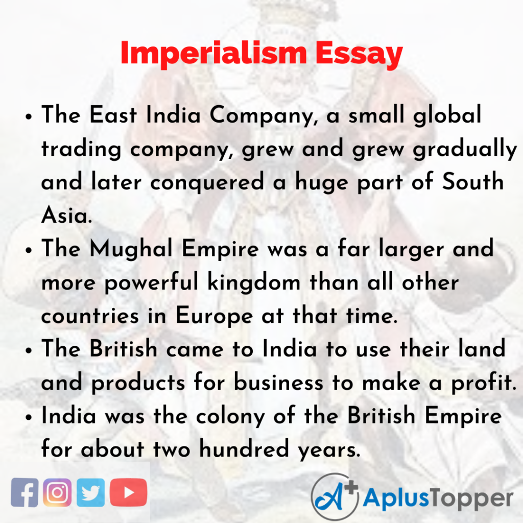 Essay on Imperialism