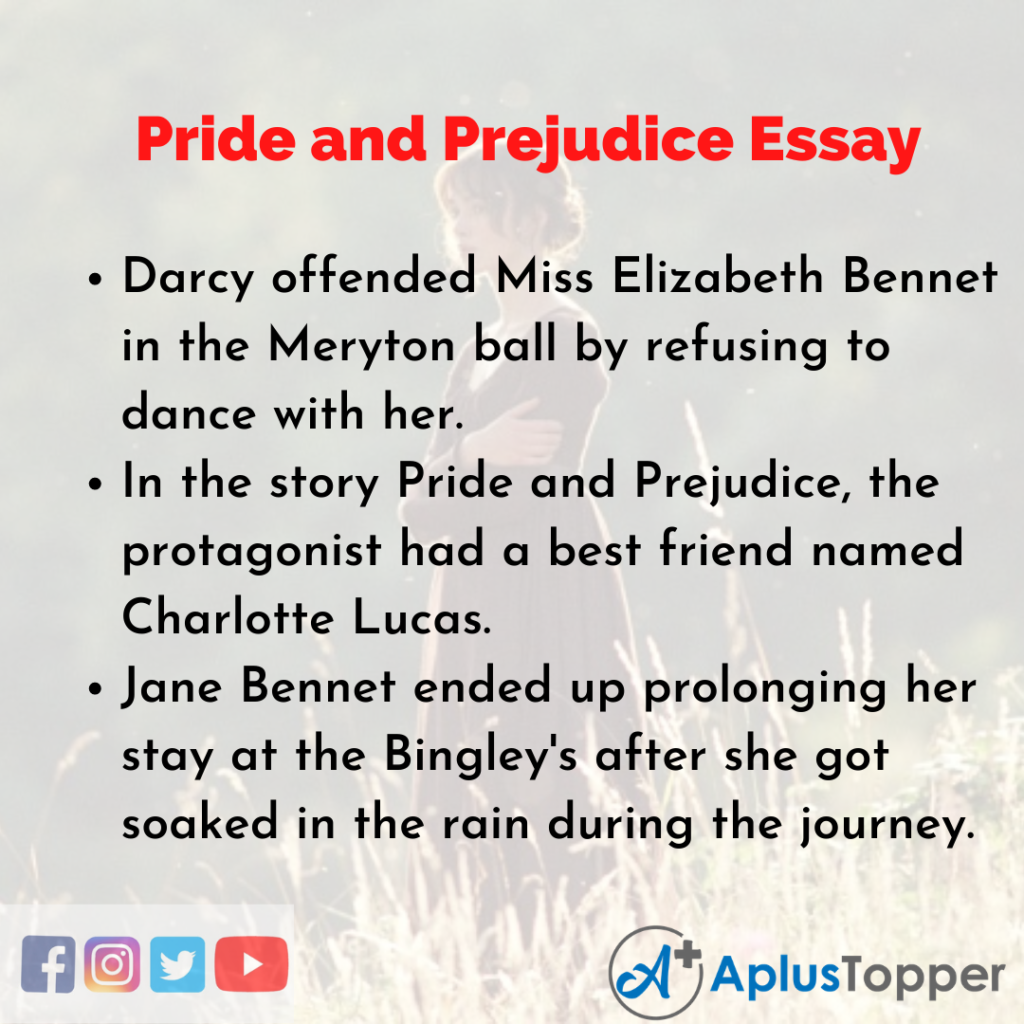 Essay on Pride and Prejudice