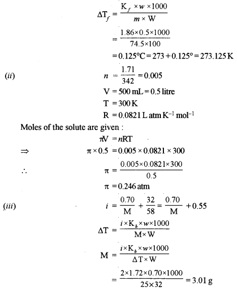 ISC Chemistry Question Paper 2015 Solved for Class 12 image - 2