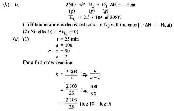 ISC Chemistry Question Paper 2016 Solved for Class 12 image - 10