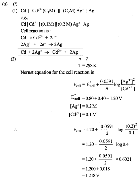 ISC Chemistry Question Paper 2016 Solved for Class 12 image - 12