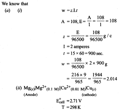 ISC Chemistry Question Paper 2019 Solved for Class 12 image - 15