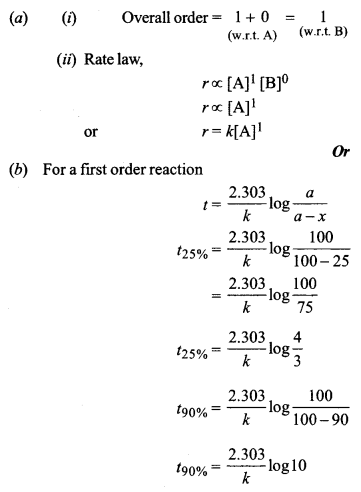 ISC Chemistry Question Paper 2019 Solved for Class 12 image - 5