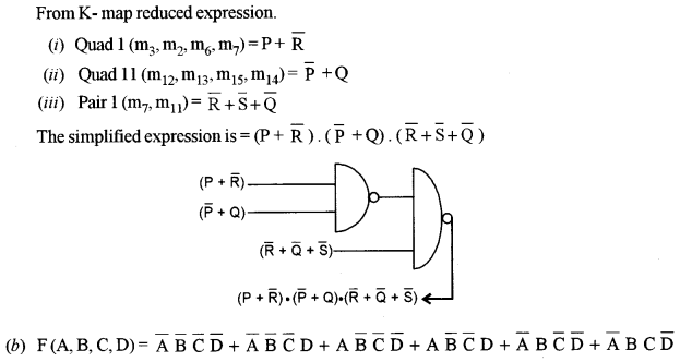 ISC Computer Science Question Paper 2011 Solved for Class 12 image - 9