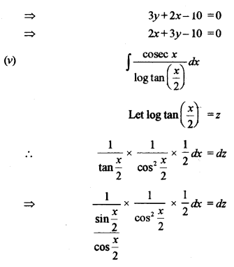 ISC Maths Question Paper 2011 Solved for Class 12 image - 6