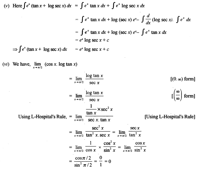 ISC Maths Question Paper 2012 Solved for Class 12 image - 6