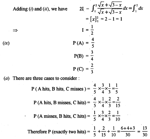 ISC Maths Question Paper 2012 Solved for Class 12 image - 8