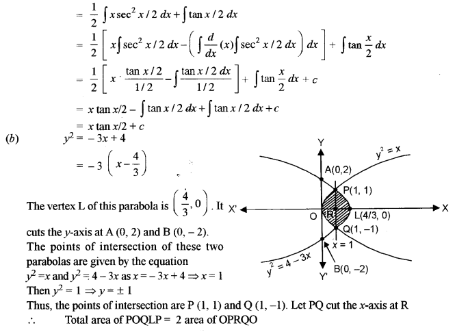 ISC Maths Question Paper 2014 Solved for Class 12 image - 26