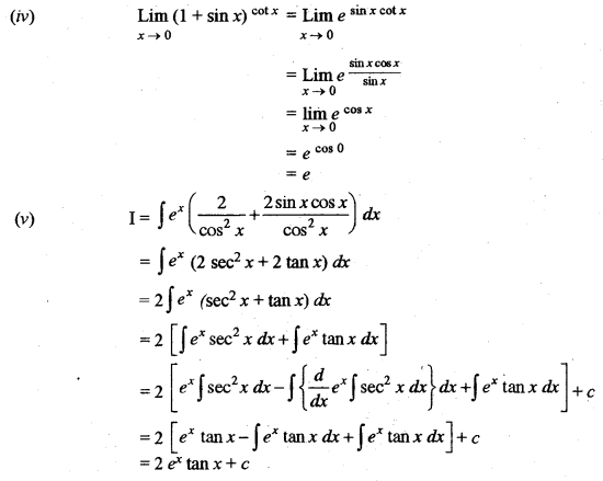 ISC Maths Question Paper 2014 Solved for Class 12 image - 5