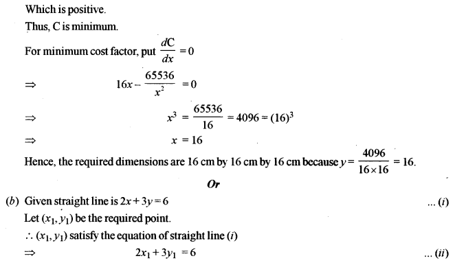 ISC Maths Question Paper 2019 Solved for Class 12 image - 40