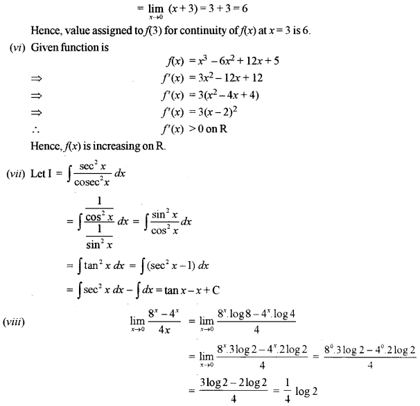 ISC Maths Question Paper 2019 Solved for Class 12 image - 5