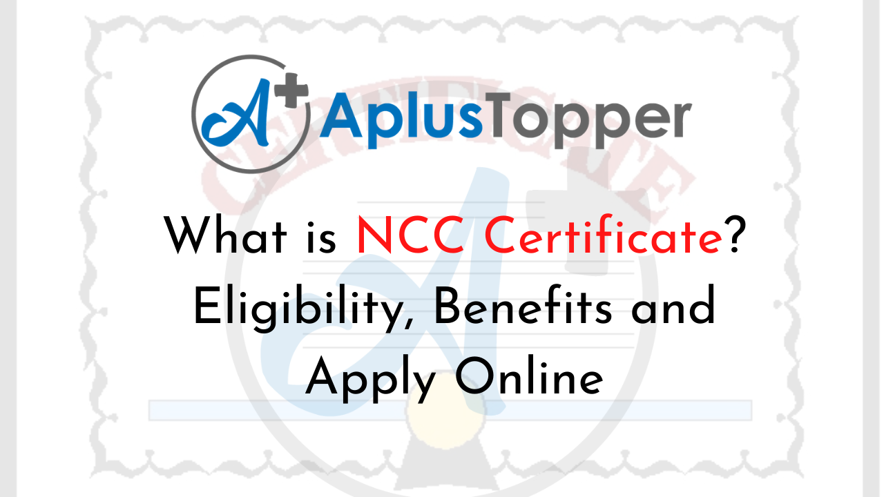 certificate ncc eligibility