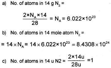 Plus One Chemistry Improvement Question Paper Say 2017, 8
