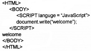 Plus Two Computer Application Chapter Wise Questions and Answers Chapter 6 Client-Side Scripting Using Java Script 1M Q36