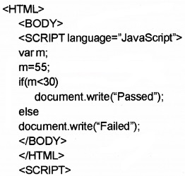 Plus Two Computer Application Chapter Wise Questions and Answers Chapter 6 Client-Side Scripting Using Java Script 3M Q9.1