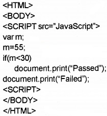 Plus Two Computer Application Chapter Wise Questions and Answers Chapter 6 Client-Side Scripting Using Java Script 3M Q9