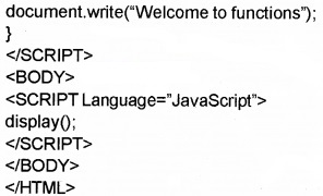 Plus Two Computer Application Chapter Wise Questions and Answers Chapter 6 Client-Side Scripting Using Java Script Assess Questions Q10.4