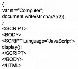 Plus Two Computer Application Chapter Wise Questions and Answers Chapter 6 Client-Side Scripting Using Java Script Assess Questions Q10.5