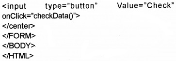 Plus Two Computer Application Chapter Wise Questions and Answers Chapter 6 Client-Side Scripting Using Java Script Assess Questions Q14.4