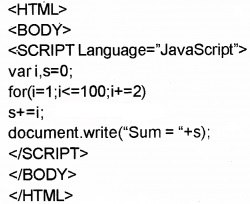 Plus Two Computer Application Chapter Wise Questions and Answers Chapter 6 Client-Side Scripting Using Java Script Assess Questions Q2.2