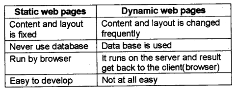 Plus Two Computer Application Notes Chapter 4 Web Technology 2