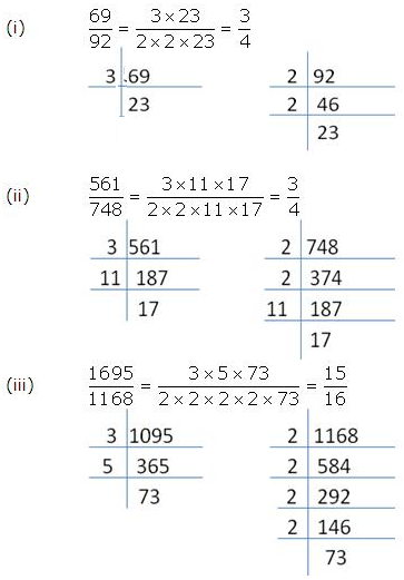 RS Aggarwal Solutions Class 10 Chapter 1 Real Numbers 1a 12.1