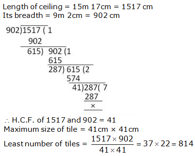 RS Aggarwal Solutions Class 10 Chapter 1 Real Numbers 1a 17.1