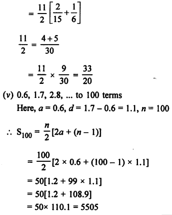RS Aggarwal Solutions Class 10 Chapter 11 Arithmetic Progressions Ex 11C 1.4