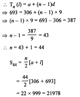 RS Aggarwal Solutions Class 10 Chapter 11 Arithmetic Progressions Ex 11C 16.1