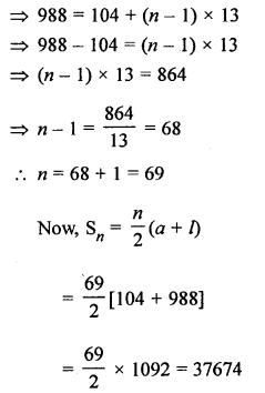 RS Aggarwal Solutions Class 10 Chapter 11 Arithmetic Progressions Ex 11C 17.1