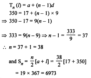 RS Aggarwal Solutions Class 10 Chapter 11 Arithmetic Progressions Ex 11C 23.1