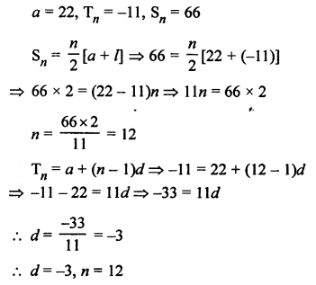 RS Aggarwal Solutions Class 10 Chapter 11 Arithmetic Progressions Ex 11C 25.1