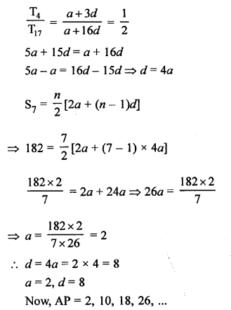 RS Aggarwal Solutions Class 10 Chapter 11 Arithmetic Progressions Ex 11C 27.2