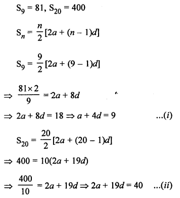RS Aggarwal Solutions Class 10 Chapter 11 Arithmetic Progressions Ex 11C 28.1