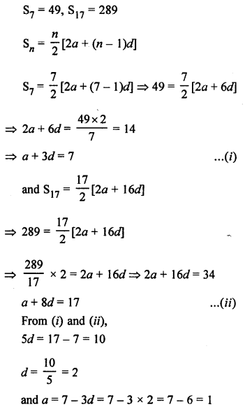 RS Aggarwal Solutions Class 10 Chapter 11 Arithmetic Progressions Ex 11C 29.1