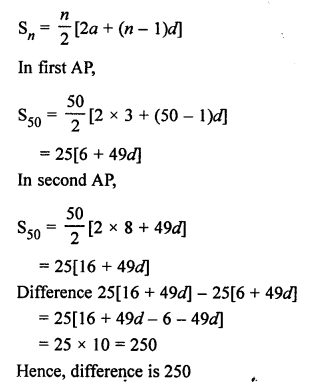 RS Aggarwal Solutions Class 10 Chapter 11 Arithmetic Progressions Ex 11C 30.1