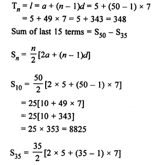 RS Aggarwal Solutions Class 10 Chapter 11 Arithmetic Progressions Ex 11C 34.1