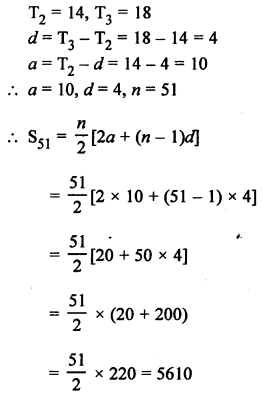 RS Aggarwal Solutions Class 10 Chapter 11 Arithmetic Progressions Ex 11C 41.1