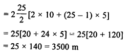 RS Aggarwal Solutions Class 10 Chapter 11 Arithmetic Progressions Ex 11C 44.2