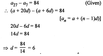RS Aggarwal Solutions Class 10 Chapter 11 Arithmetic Progressions Ex 11D 26.1