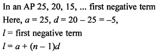 RS Aggarwal Solutions Class 10 Chapter 11 Arithmetic Progressions MCQS 21.1