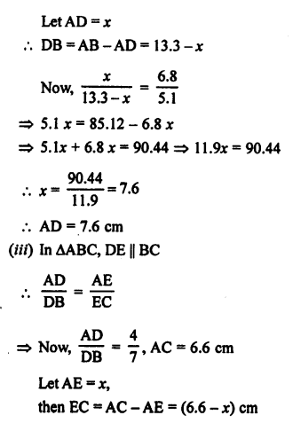 RS Aggarwal Solutions Class 10 Chapter 4 Triangles 1.2