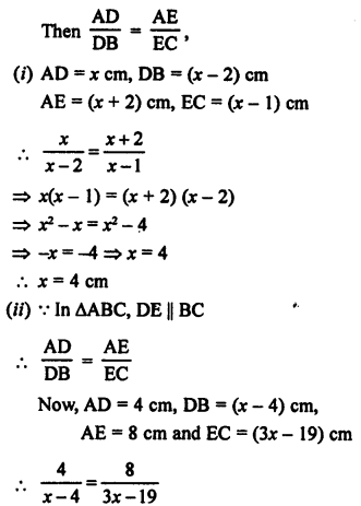 RS Aggarwal Solutions Class 10 Chapter 4 Triangles 2.1