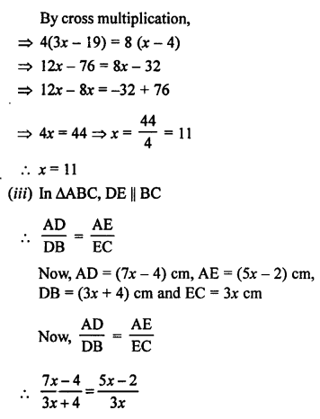 RS Aggarwal Solutions Class 10 Chapter 4 Triangles 2.2